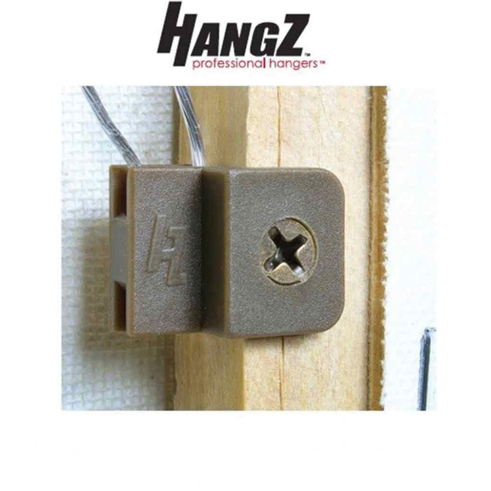 HangZ Easy Wire Tie 1 Hole Clamp + Screw